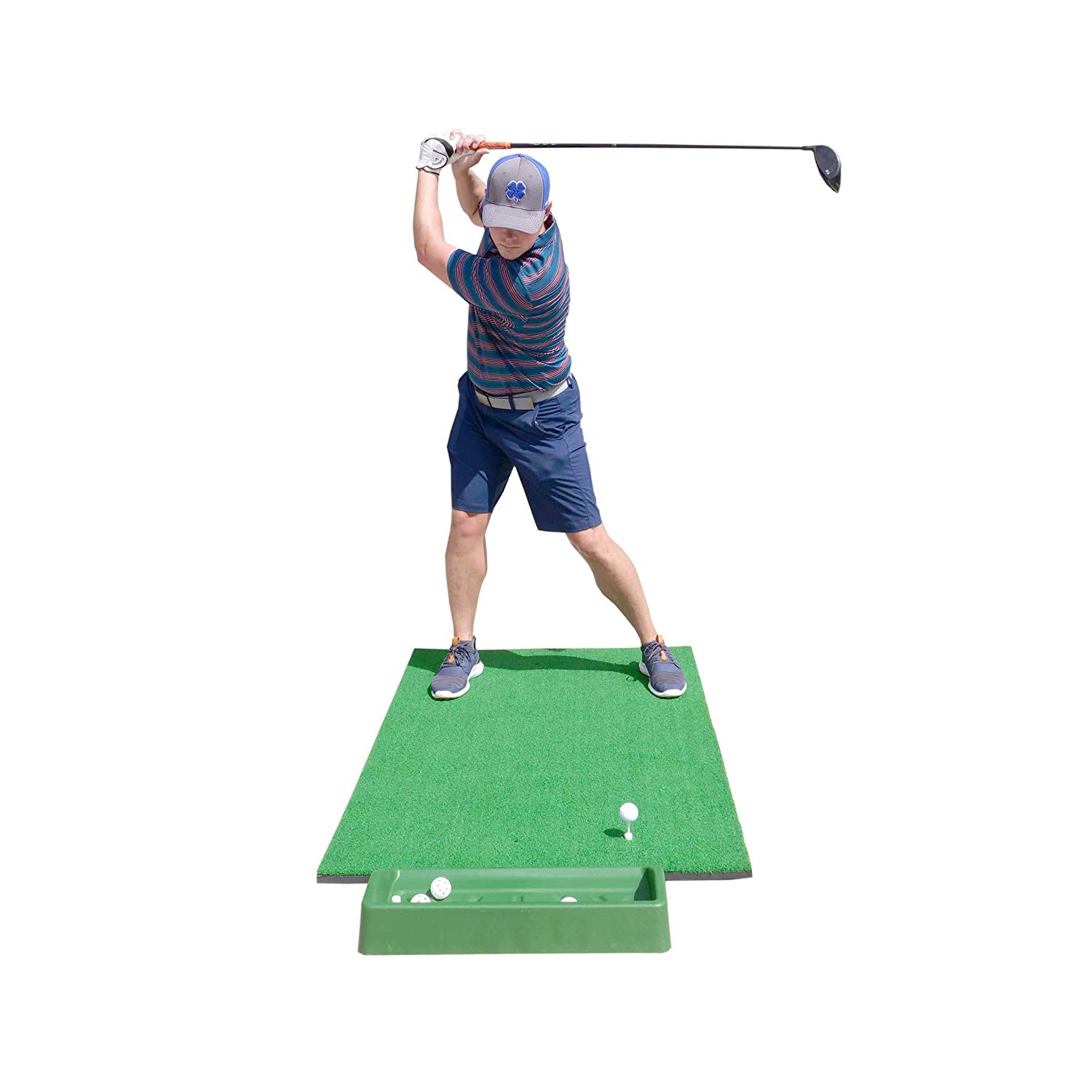 SharperGolf hitting mat